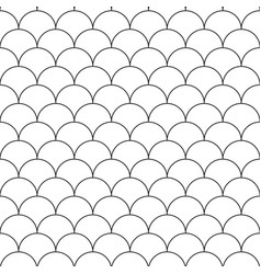 Seamless japanese pattern - simple vector