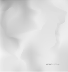 Empty white wall texture Template design vector image