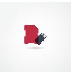 memory icon vector image