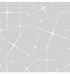 Seamless with thin stars on grey vector image vector image