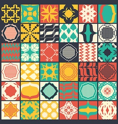 Set of 36 seamless patterns vector