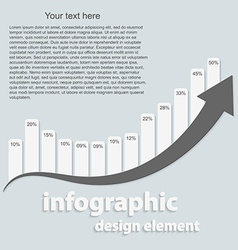 Abstract infographic Design elements vector image vector image