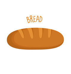 bread isolated vector image