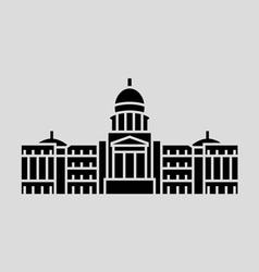 Idaho State vector image