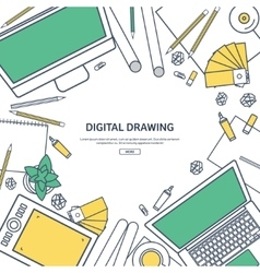 Line artGraphic web design Drawing and painting vector
