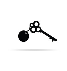 Old key vector