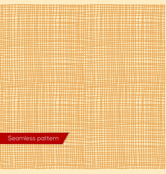 seamless texture yellow canvas vector image