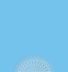 side openwork border - blue background - for vector image