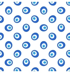 Turkish evil eye seamless pattern vector image