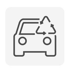 Used car icon vector