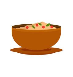 Vietnam food icon flat style vector