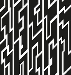 black tribal seamless pattern vector image