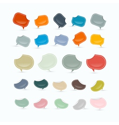 Empty Labels Tags Set vector image vector image