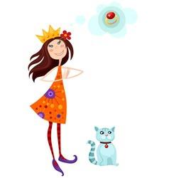princes vector image vector image