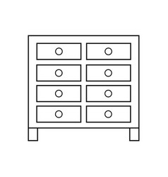 bachelors chest vector image