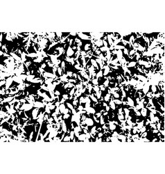 Black and white grunge texture marbling vector