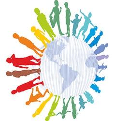 children from around world vector image