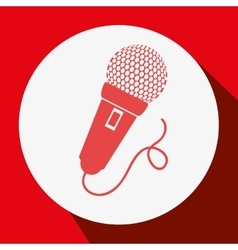 Microphone speak talk audio vector