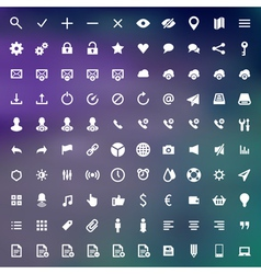 Web site icons set design elements for design vector