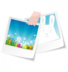 photo Easter vector image