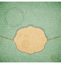 vintage blue background vector image vector image