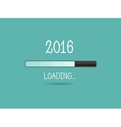 2016 loading Progress bar vector image