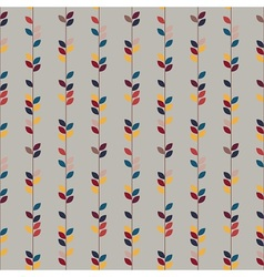 Autumn Nature pattern vector image