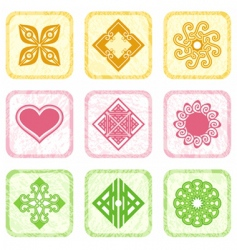 cards for design vector image