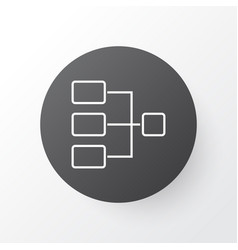 connection network icon symbol premium quality vector image