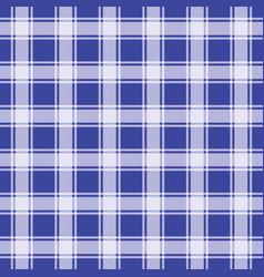 Navy blue gingham pattern geometric background vector
