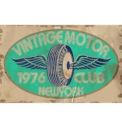 Vintagemotortwo vector