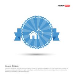windturbines icon vector image