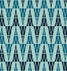 ancient triangle seamless pattern vector image