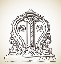 symbol of Buddhism vector image