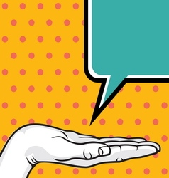 POPART FIST5 vector image vector image