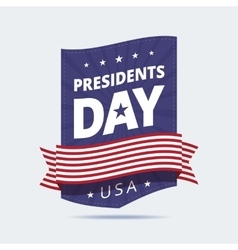 Presidents Day banner vector image