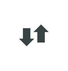 Arrow icon simple vector