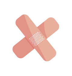 Cure bandage medical icons vector