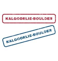 Kalgoorlie-Boulder Rubber Stamps vector
