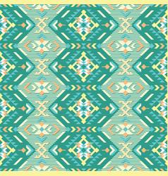native geometric art print ethnic seamless vector image