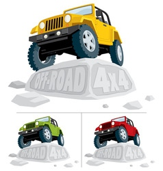 offroad 4x4 vector image