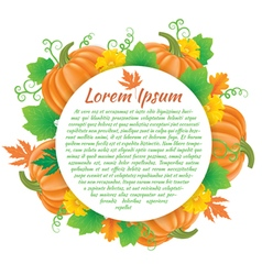 Pumpkin composition vector