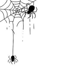 Spider Web 1 vector