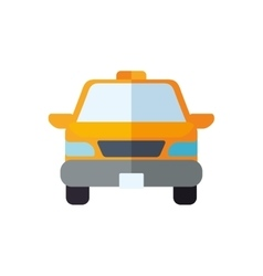 Taxi transportation delivery travel icon vector