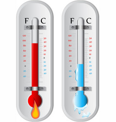 Thermometer vector