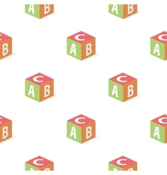 Baby s cube cartoon icon for web and vector image
