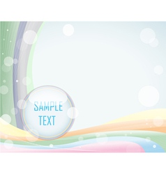 Light background with layout vector image vector image