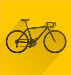 Bicyle sport icon vector