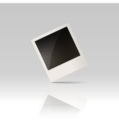 Blank photo vector