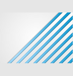 Blue and grey concept corporate stripes background vector